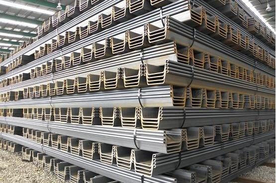 8000 ton New Geproduceerd Warmgewalst damwand Type IV nieuwe voorraad, direct verzending