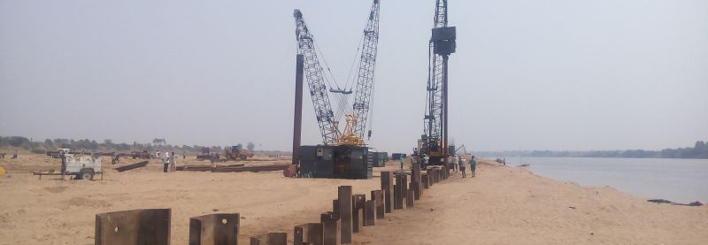 Nieuwe verbinding stalen Damwand voor grondkerende werken