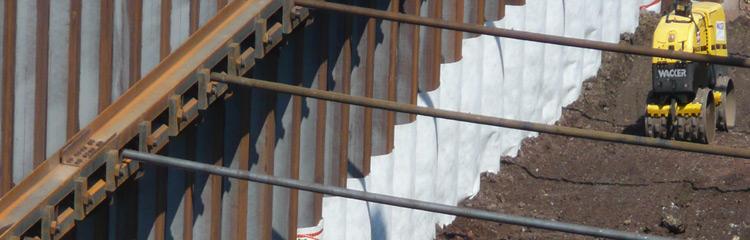 Hoesch damwanden Sealing Systeem