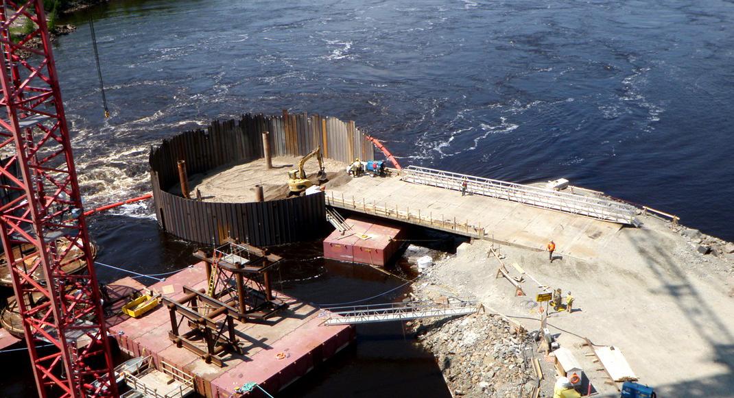 Damwanden systeem