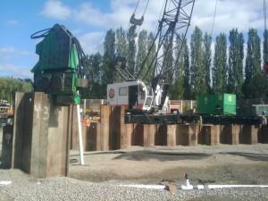 Damwanden - installatie en verwijdering