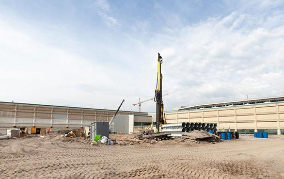 Damwand interlock afdichtingsmiddelen in de haven bouwtoepassingen
