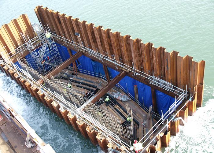Damwanden in de bouw